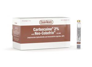 Carbocain eller mepivacain